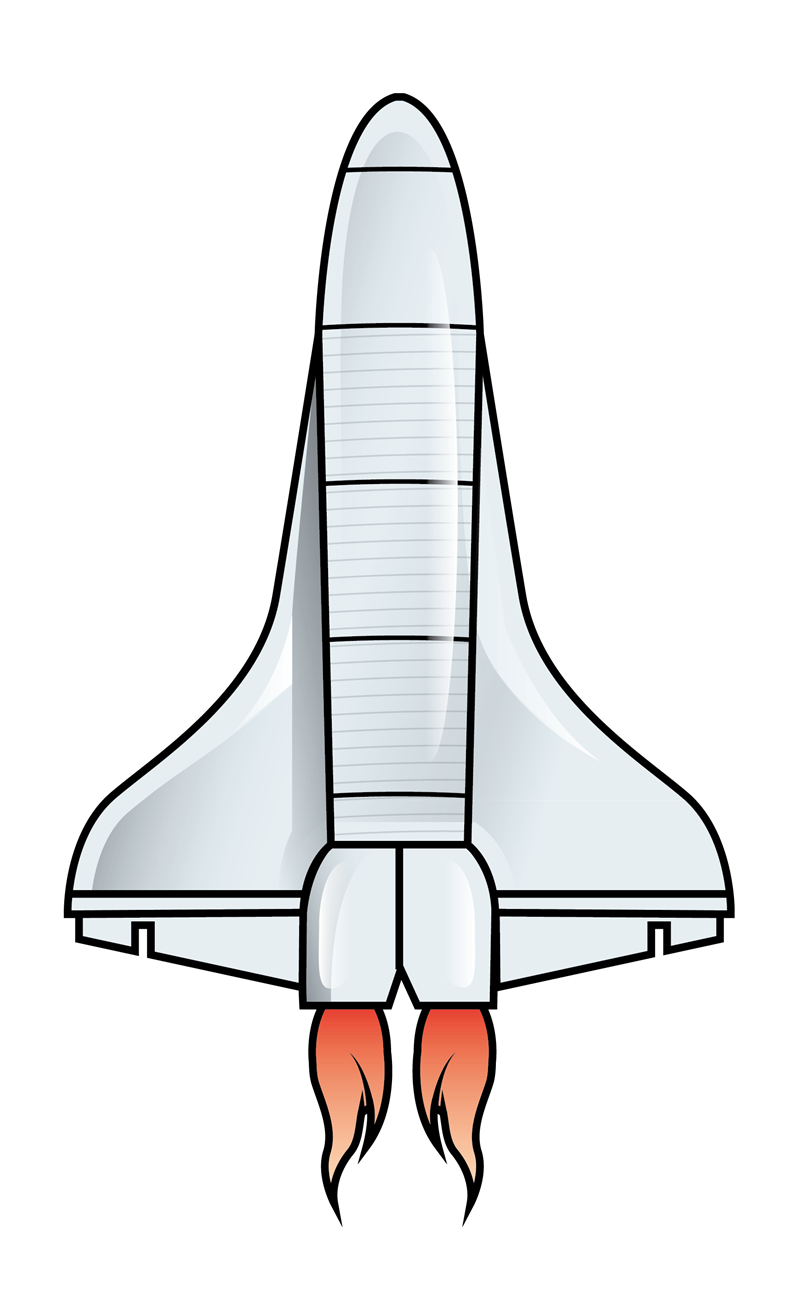 You can use this space shuttle clip art for personal or commercial purposes. Use this clip art whenever you are required to show an image of a space shuttle ...
