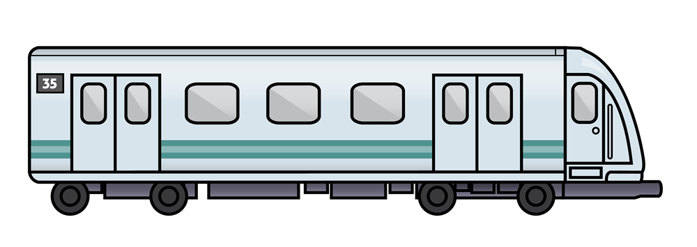 You can use this subway train clip art on your personal or commercial projects like e-books, reference books, websites and blogs, school projects, ...