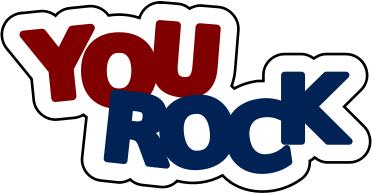 You Rock Education Encouraging Words You-You Rock Education Encouraging Words You Rock Png Html-2