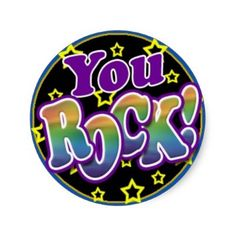 you rock | You Rock! Sticker-you rock | You Rock! Sticker-16