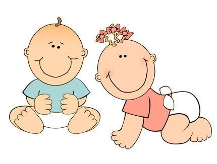 Young Boy Clipart. mom dad and baby girl-Young Boy Clipart. mom dad and baby girl crawling on the floor-6