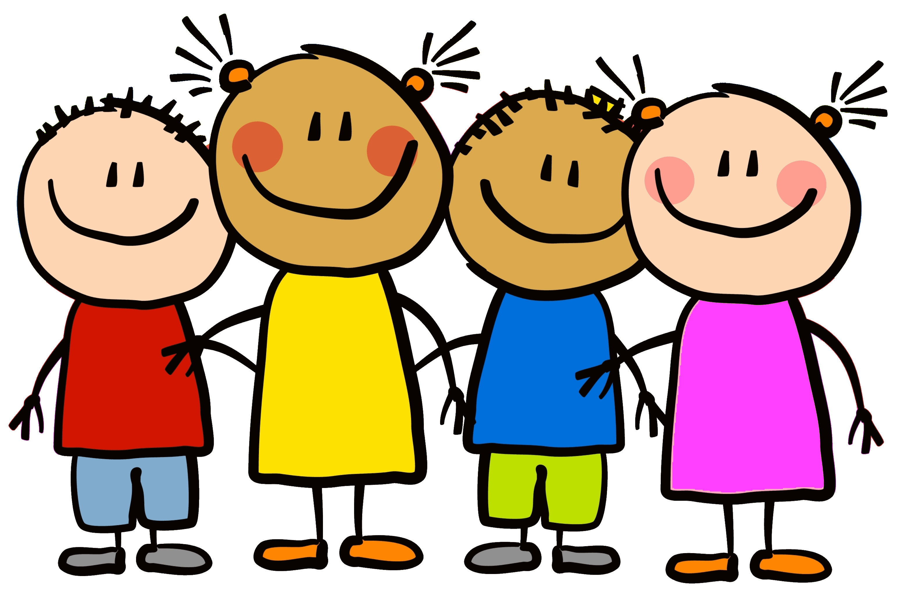 Young children playing clipart .