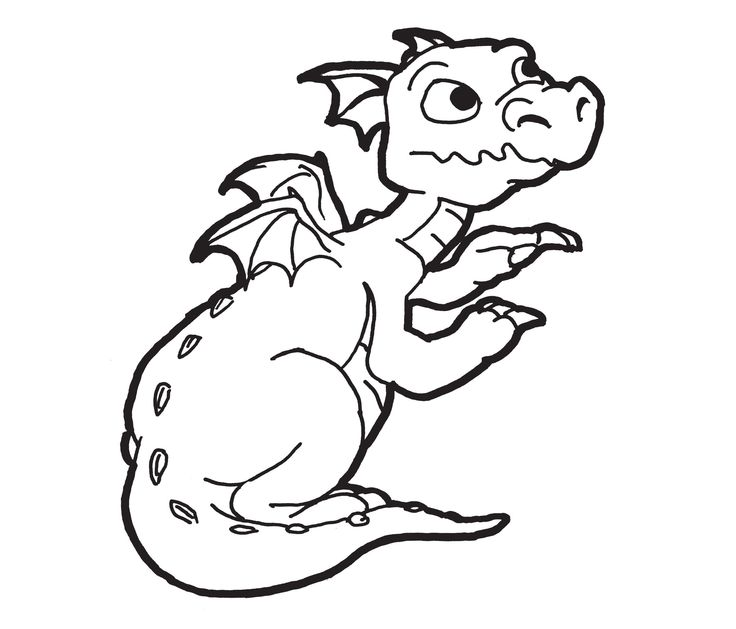 your dragon coloring pages .