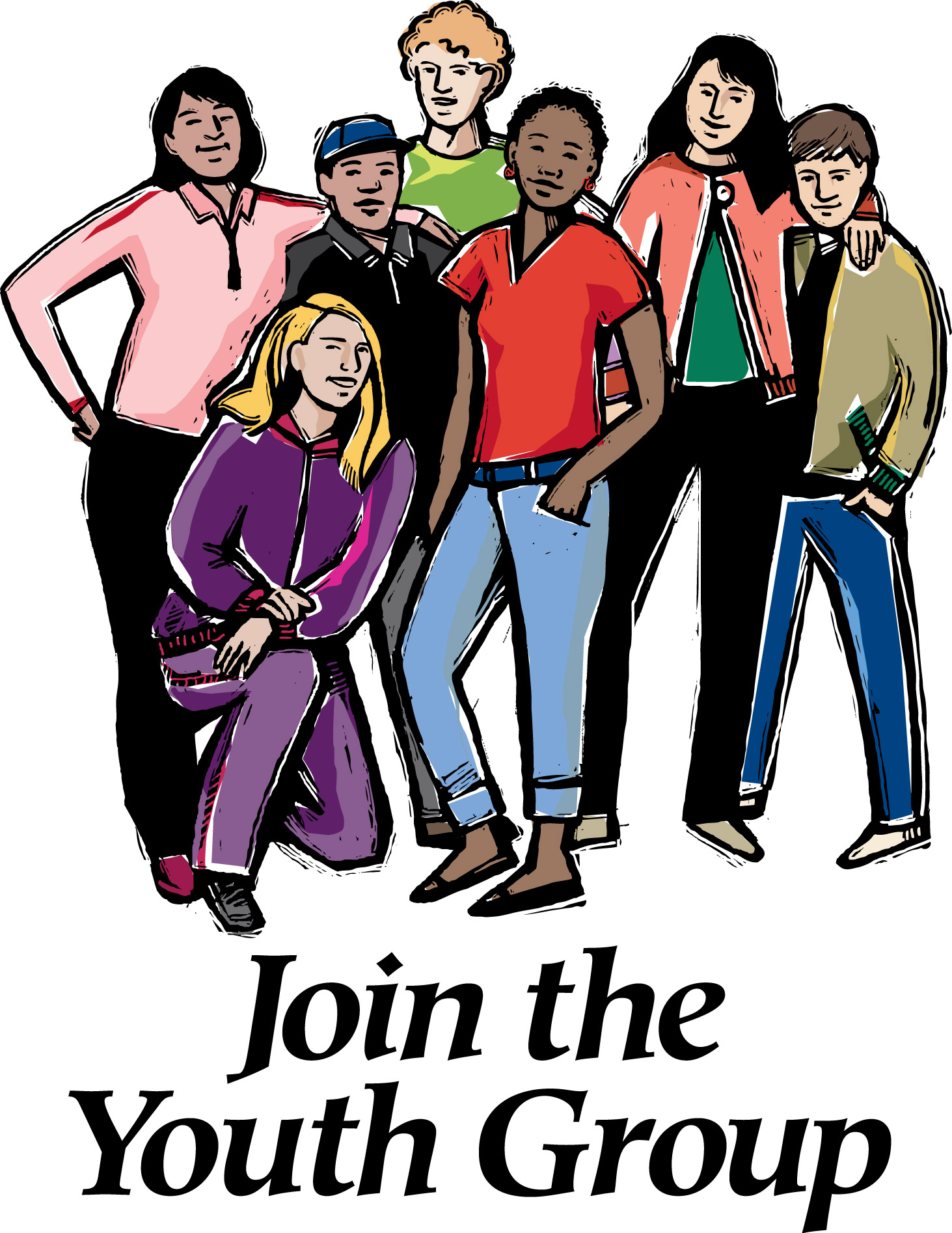 Youth Group Clip Art - Youth Group Clip Art