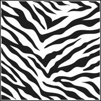 Zebra Print Clipart-zebra print clipart-9