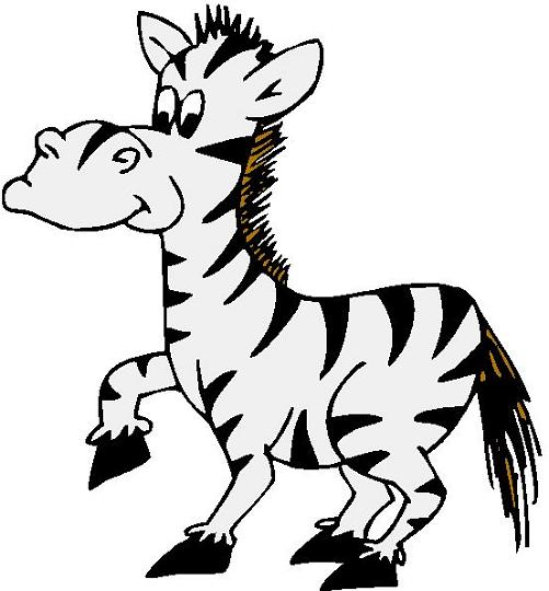 Zebra Clip Art Black And White .-Zebra Clip Art Black And White .-15