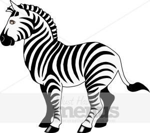 Zebra Clipart - Zebra Clipart Black And White