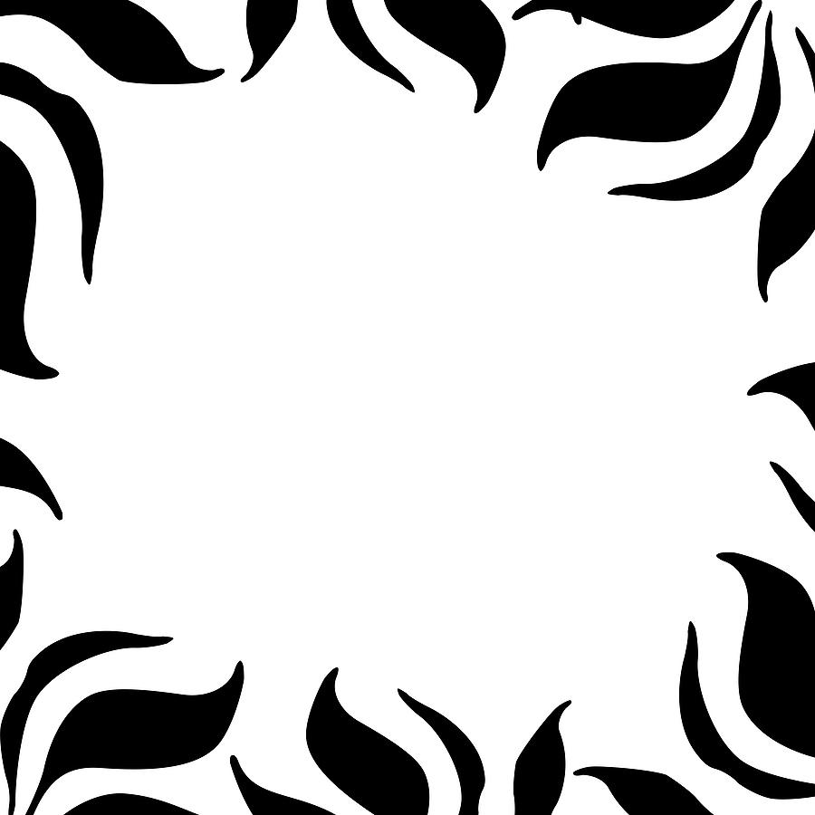 Zebra Page Border - ClipArt .