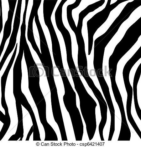 Zebra print -hand drawn black on white-Zebra print -hand drawn black on white-7