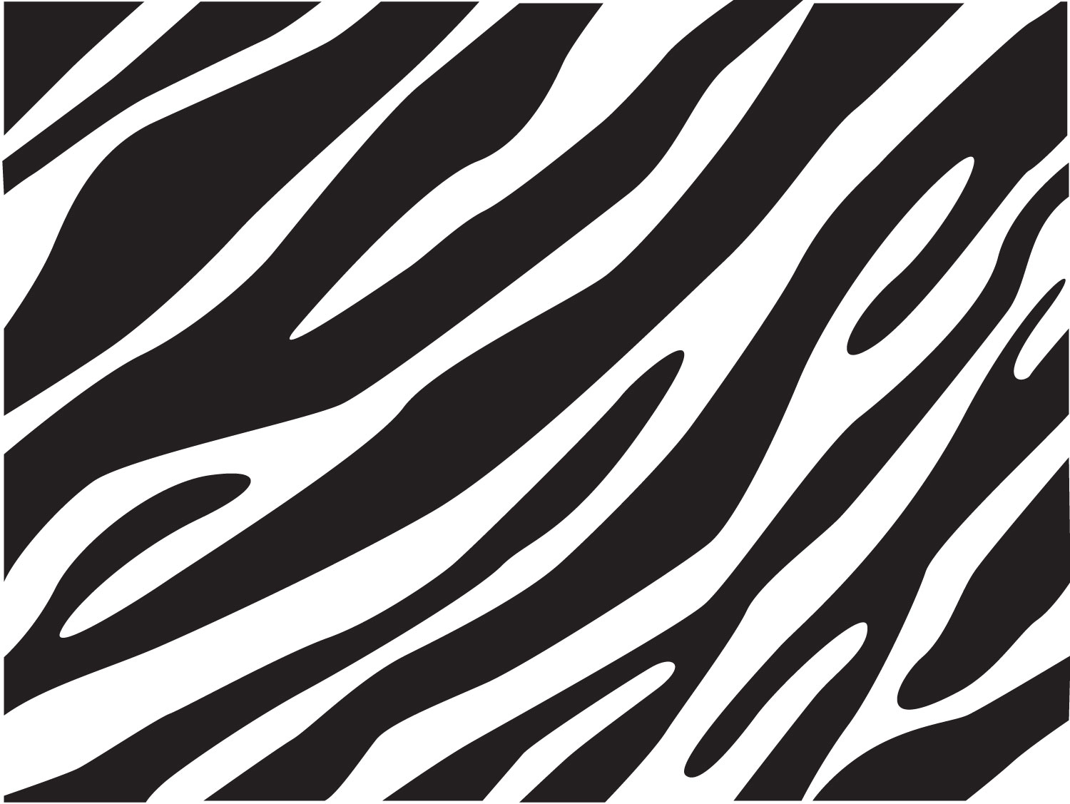 Zebra Print Wallpaper #6874554