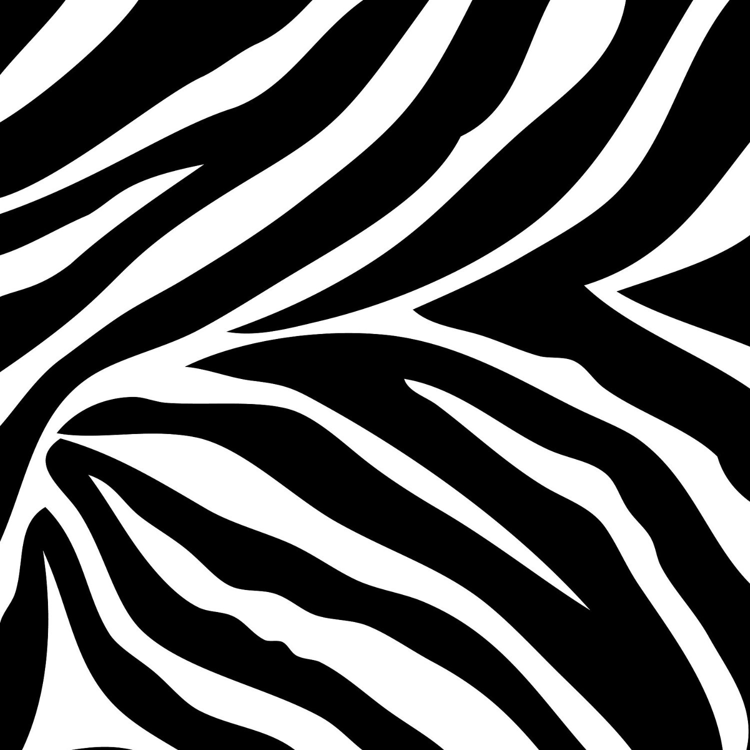 Zebra Print Wallpaper .