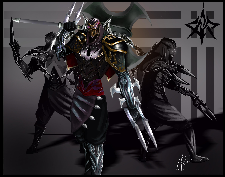 Eoinart 1,475 38 Zed The Master Of Shado-eoinart 1,475 38 Zed the Master of Shadows by LeonSerade-2