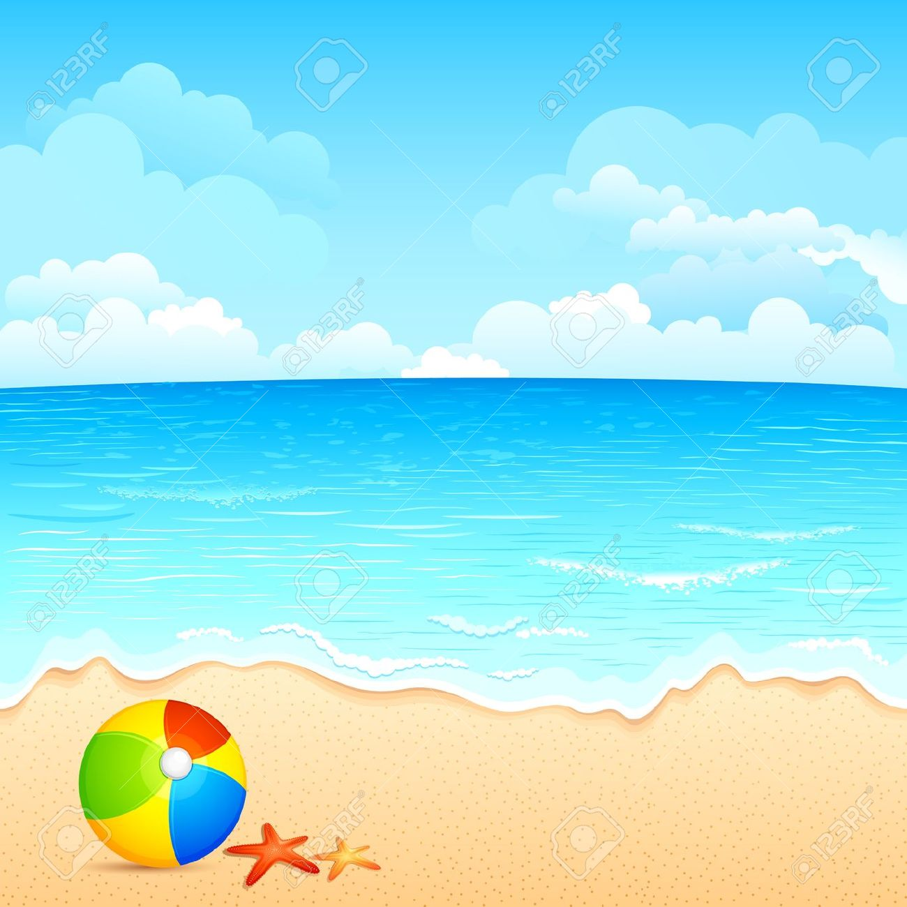 30 beach background clipart clipartlook
