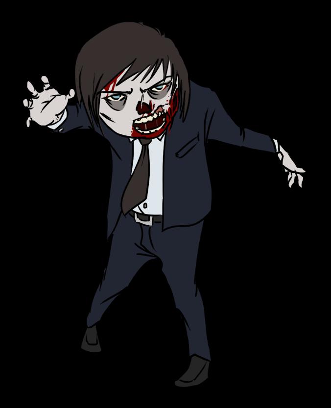 Zombie clip art vector zombie graphics image. Free Zombie Clipart