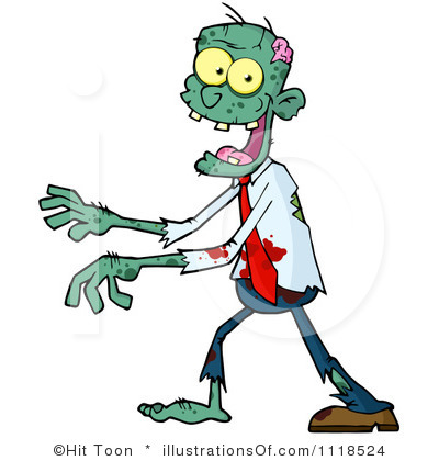 Zombie Clipart Illustration