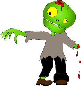 Zombie Clipart Kid-Zombie clipart kid-18