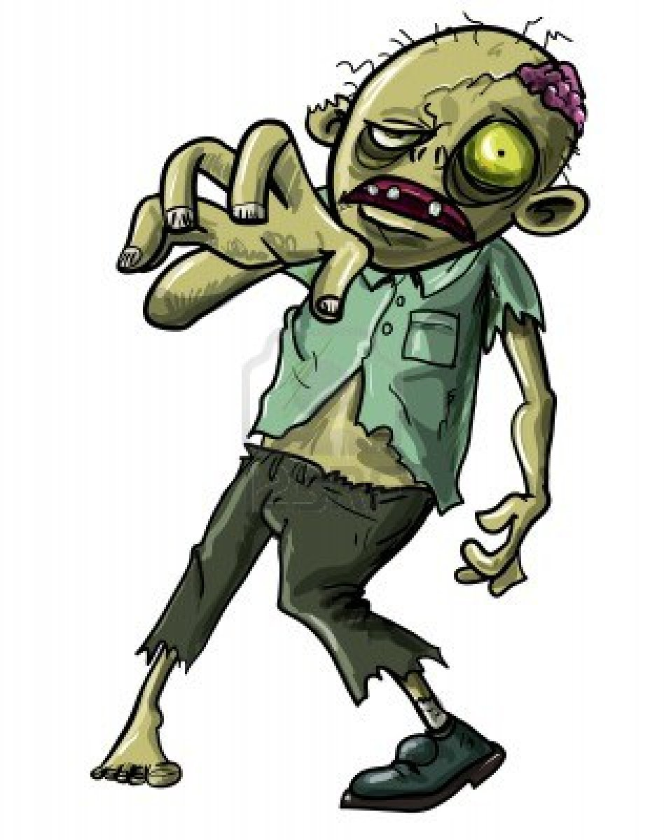 Zombie Clipart -