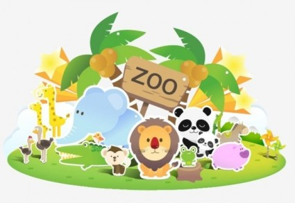 Zoo clipart image