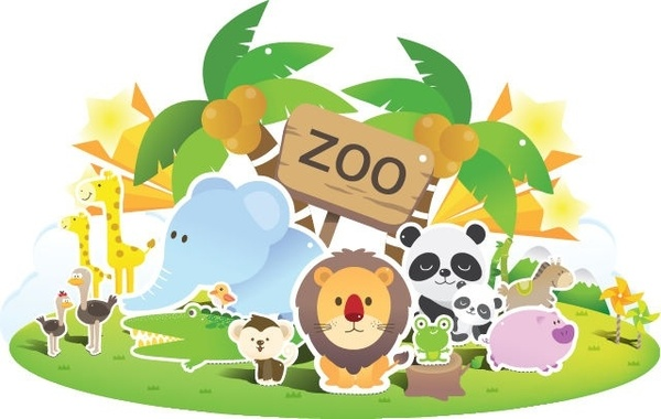 Zoo Cute Vector