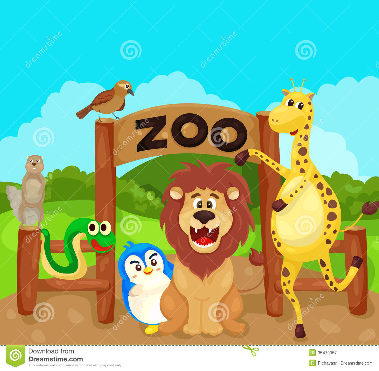 Zoo Entrance Free Clipart-Zoo Entrance Free Clipart-14