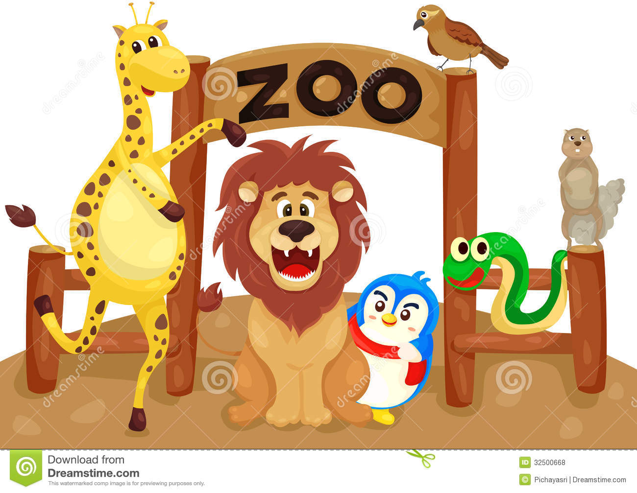 Zoo Entrance Free Clipart
