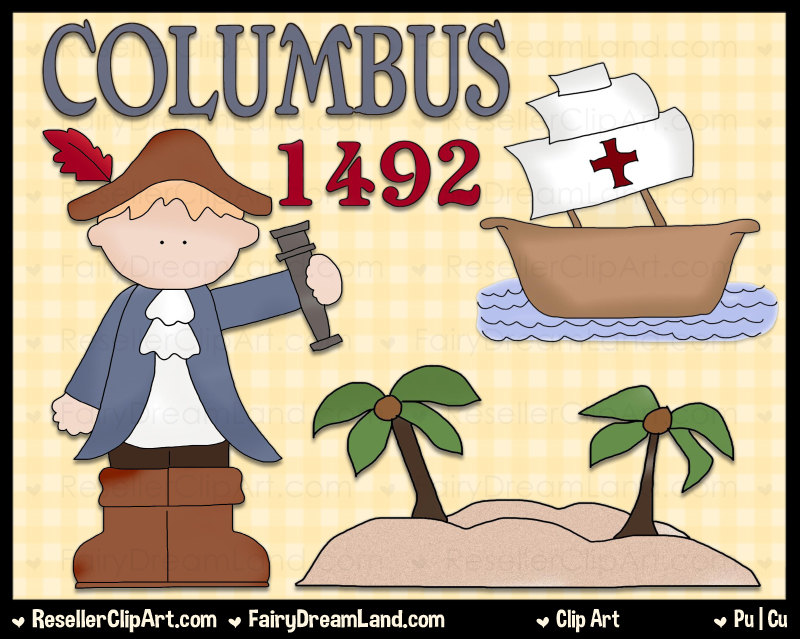- Christopher Columbus Clip Art