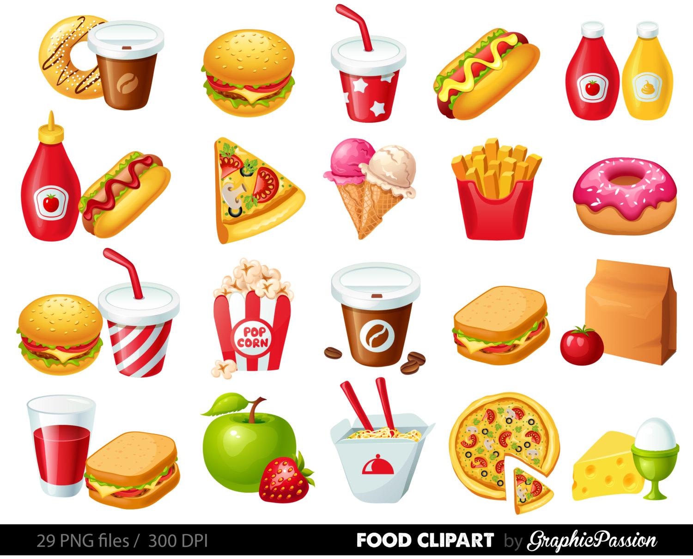 Junk Food Clipart--16