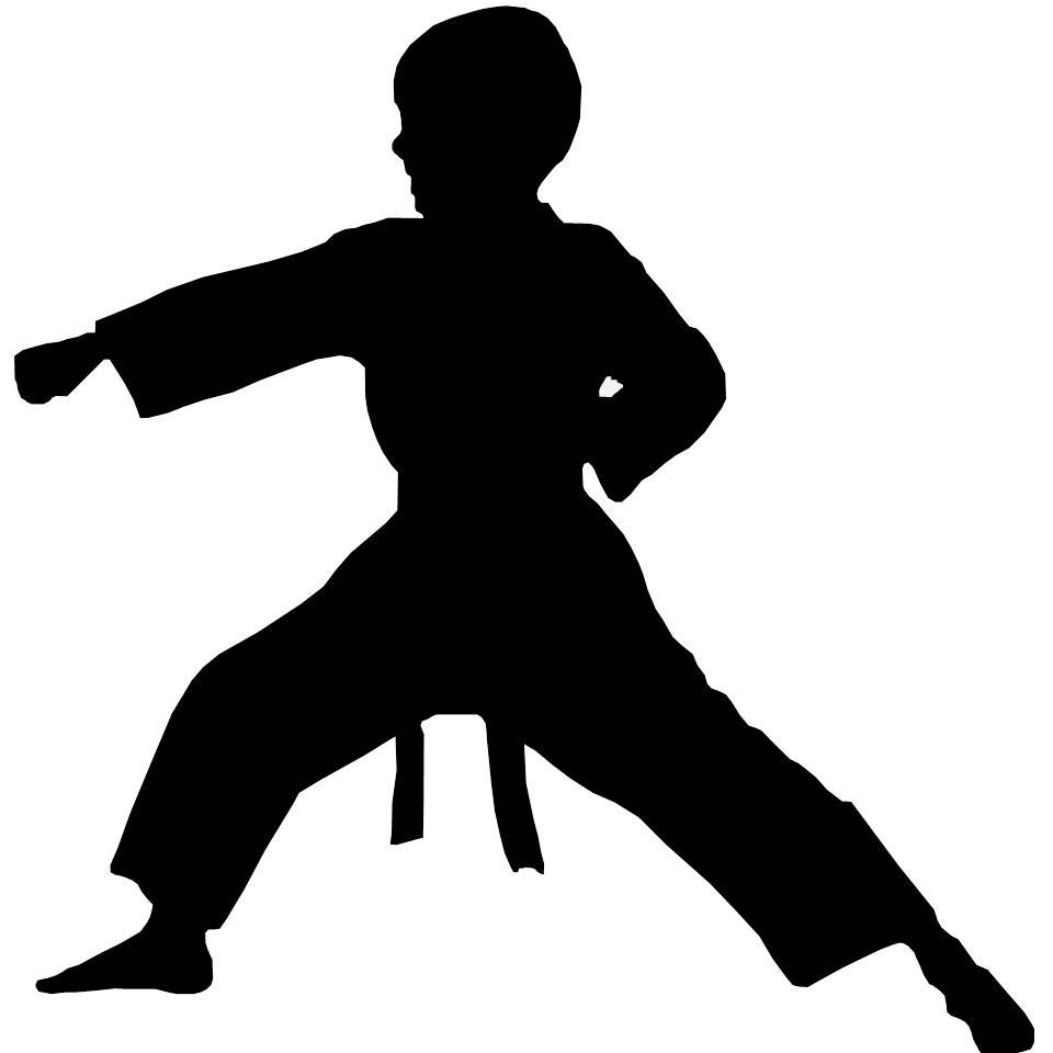 Karate Clipart--9