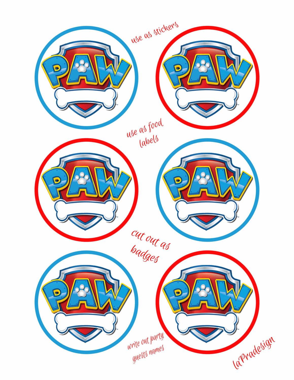 Paw Patrol Logo Clipart--19