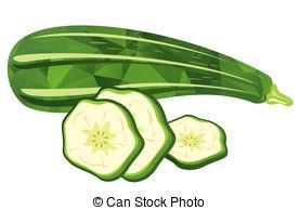 ... zucchini - Stylized zucchini and sli-... zucchini - Stylized zucchini and slices isolated on a white... ...-7